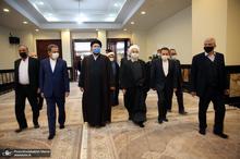 تجدید میثاق رئیس جمهور و اعضای هیأت دولت با آرمانهای حضرت امام(س)