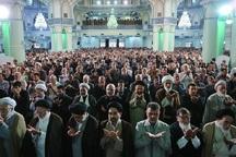 نماز ظهر عاشورا در قبله تهران اقامه شد