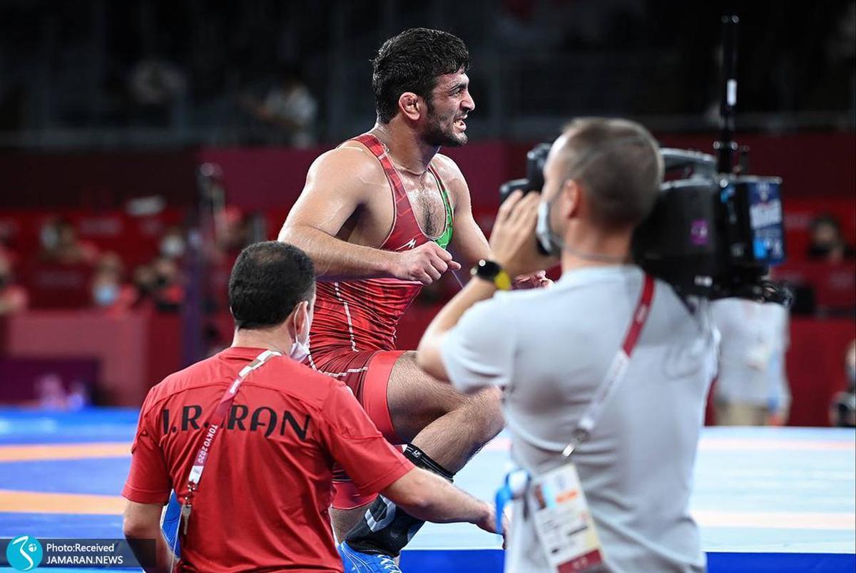 علت شکست حسن یزدانی مقابل تیلور در فینال المپیک توکیو