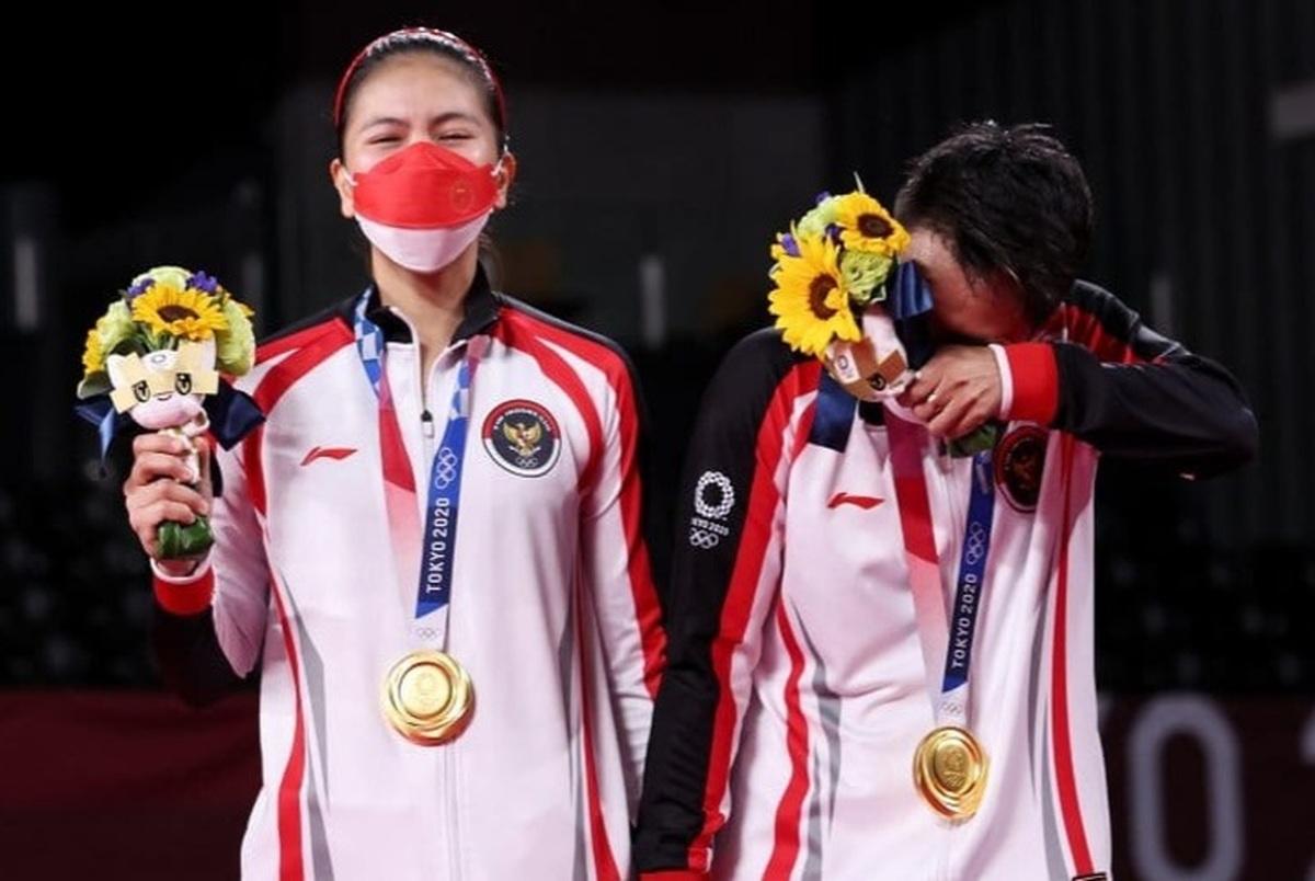 مدالآوران اندونزیایی المپیک قهوه و گاو پاداش گرفتند!