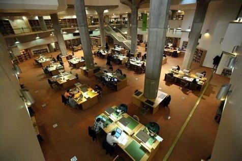 بازگشایی تالارهای عمومی کتابخانه ملی ایران