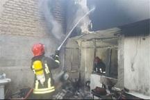 منزل مسکونی در یاخچی آباد تهران آتش گرفت