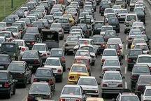 ترافیک در آزادراه قزوین-کرج سنگین است