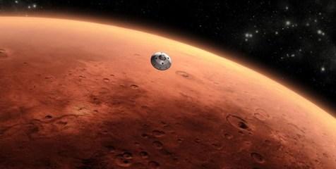 شناسایی اشکال شبیه به عنکبوت بر روی سطح مریخ + تصاویر