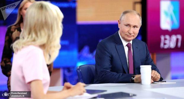 گفت و گوی سالانه پوتین: از سناریوی دریای سیاه تا چگونگی واکسن زدن دخترش