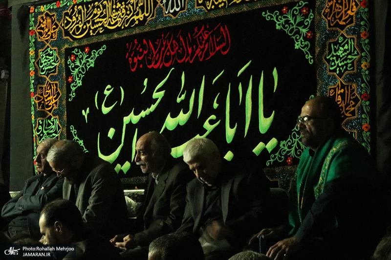 مراسم عزاداری شهادت حضرت امام حسن عسکری(ع) در حسینیه صنف فرش تهران