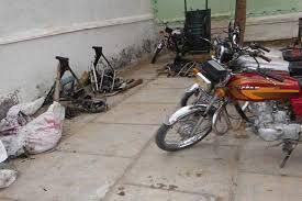 باند سارقان موتورسیکلت در قزوین متلاشی شد
