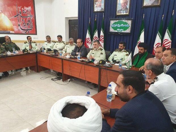 سردار اشتری: تامین امنیت زائران اربعین حسینی(ع) اولویت پلیس است