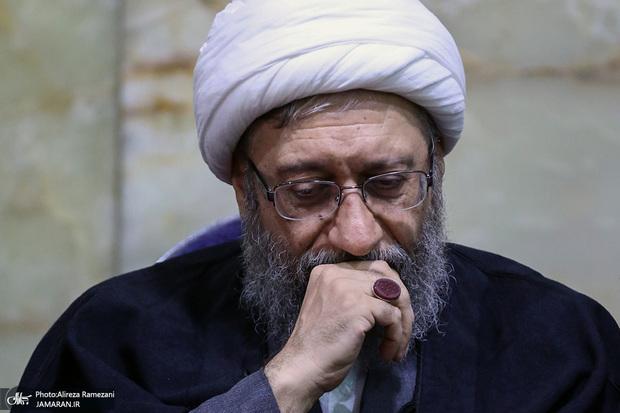 آملی لاریجانی به رهبر معظم انقلاب تسلیت گفت
