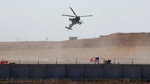 یک بالگرد آمریکایی در سوریه سرنگون شد
