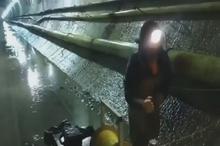 فیلمی از انفجار داخل تونل و رفت و برگشت موج انفجار!