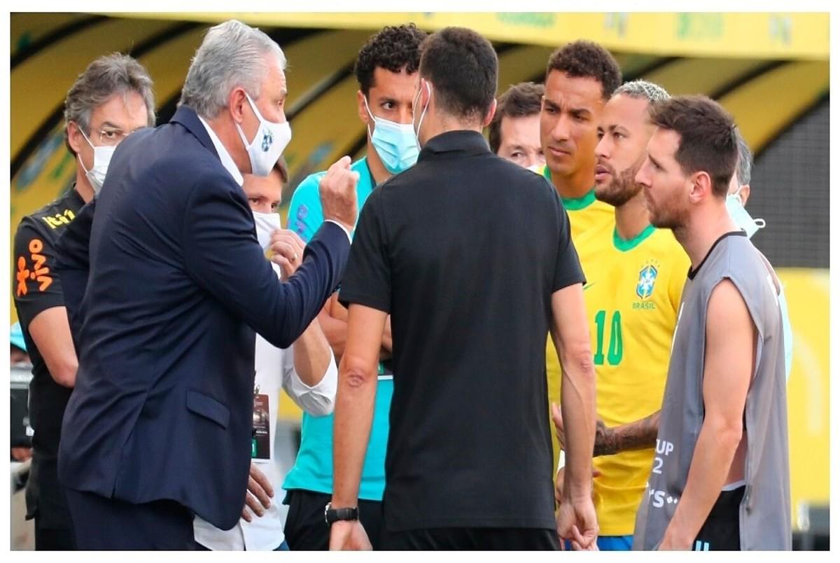 واکنش فیفا به اتفاقات جنجالی برزیل و آرژانتین