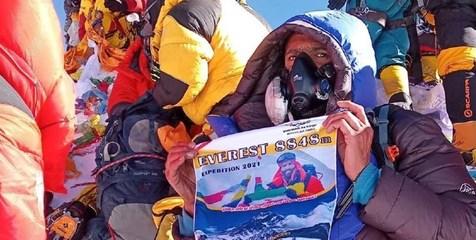 فاتح ایرانی اورست در نپال کرونا گرفت