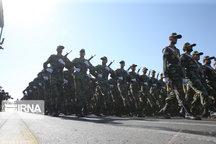 نیروهای مسلح اردبیلاقتدار نظامی خود را به نمایش گذاشتند