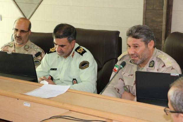 نیروهای انتظامی و مرزبانی آماده خدمتگزاری به زائران اربعین هستند