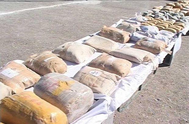 ۲۸۳ کیلوگرم موادمخدر در یزد کشف شد