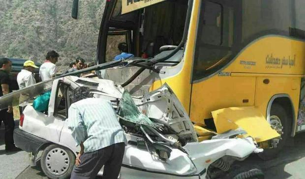فوت 6 نفر بر اثر تصادف در جاده سراوان به فومن