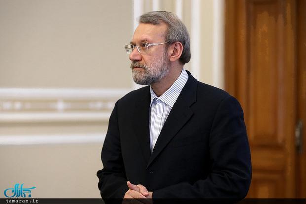 لاریجانی: قبل از آغاز جنگ در سوریه و یمن پیشنهاد گفت وگوی سیاسی دادیم