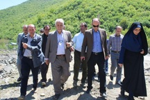 مسئولان تالش مشکلات روستاهای کلمر و سقاچال را بررسی کردند