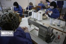 روزانه ۵۰ هزار عدد ماسک در مازندران تولید میشود