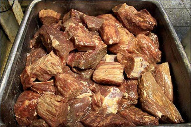 حدود 2.5 تن گوشت غیربهداشتی در همدان کشف شد