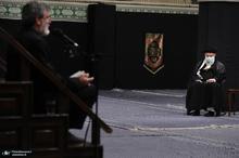مراسم عزاداری شام غریبان حسینی (ع) در حسینیه امام خمینی
