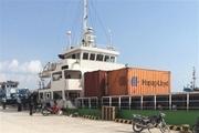 کشتی چینی پس از گذراندن دوره کمون در بندر دیر پهلو گرفت