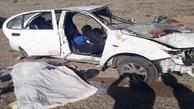 واژگونی خودرو در مهولات یک کشته و ۴ زخمی بر جای گذاشت