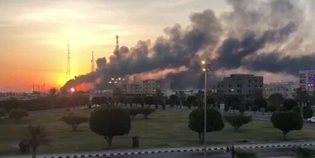 حمله انصارالله یمن به پایانه نفتی جازان عربستان