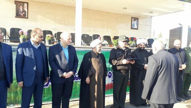 افسران و سربازان نمونه ناجا در شرق استان تهران تجلیل شدند