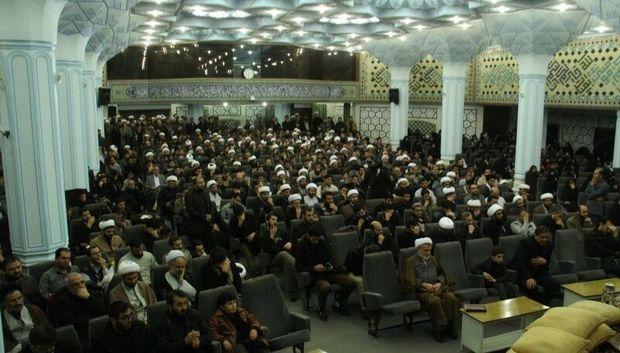 آیین گرامیداشت سالگرد شهادت آیت الله سید مصطفی خمینی در قم برگزار شد