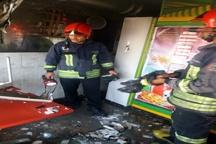 حریق رستوران غذاخوری در کیانشهر اهواز