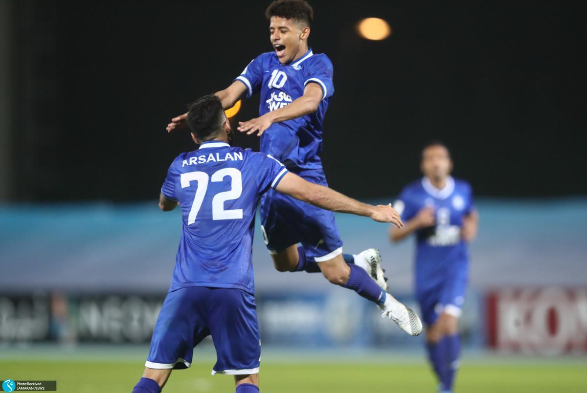 زیباترین جشن گل هفته لیگ قهرمانان آسیا به قایدی رسید+عکس و فیلم