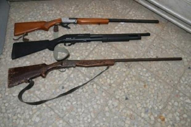 سه قبضه اسلحه شکاری غیرمجاز در تالش ضبط شد