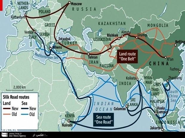 ایران بهترین مسیر انشعابی در راه ابریشم جدید آسیاست