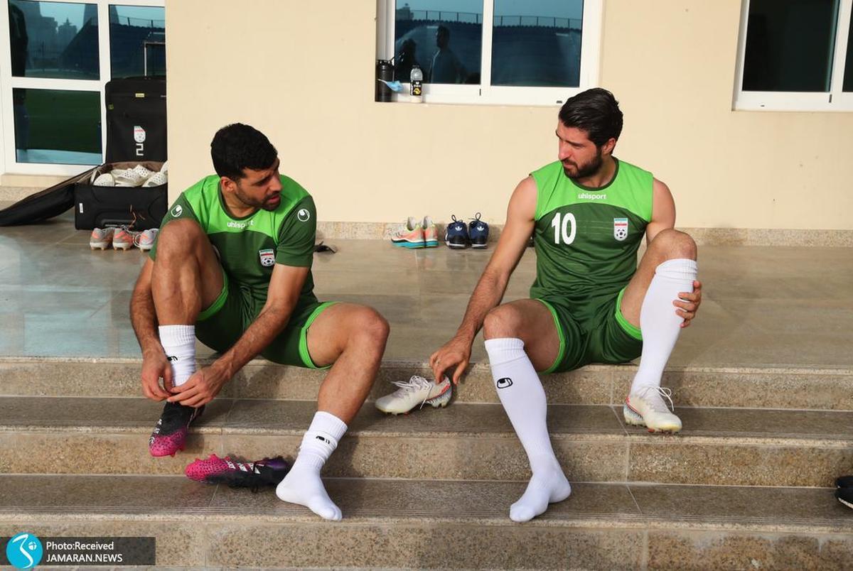 آخرین تمرین ایران قبل از بازی با کامبوج| همه جدی برای یک جدال جدی! +عکس
