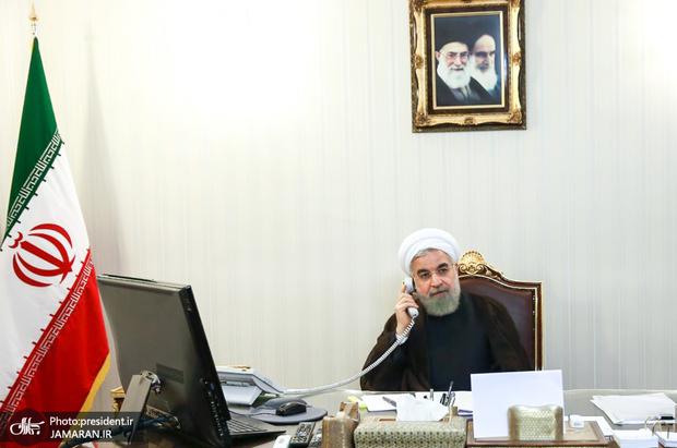 گفت و گوی روحانی با نخست وزیر عراق در مورد تعرض به اماکن دیپلماتیک ایران و وضعیت فلسطین