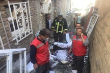 انفجار ناشی از نشت گاز در سردشت 2 نفر مصدوم برجای گذاشت