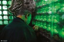 ببینید/ آخرین غبارروبی حاج قاسم در حرم امام هادی (ع)