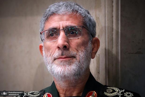 سردار قاآنی: همه شاهد پشتیبانی ارتش از محور مقاومت بودهاند