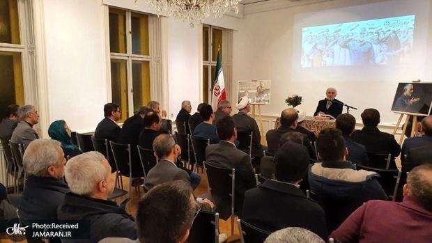 برگزاری مراسم چهل و یکمین سالروز پیروزی انقلاب و اربعین شهید سپهبد سلیمانی در اتریش