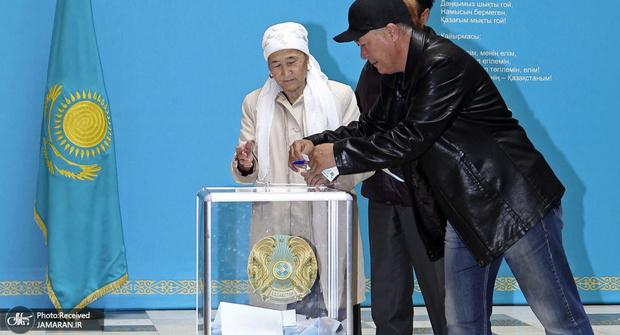 عکس/ آغاز انتخابات ریاست جمهوری قزاقستان