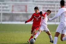 تیم فوتبال نوجوانان فولاد یزد در مقابل سیرجان متوقف شد
