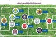 لژیونر پرسپولیسی در تیم منتخب هفته دهم لیگ قطر/عکس