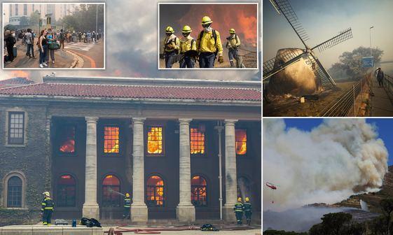 دانشگاه در آتش+ تصاویر