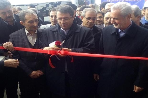 کارخانه تولید فولاد توسط وزیر صمت در تبریز افتتاح شد
