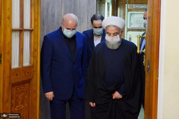 واکنش معاون دفتر رییس جمهور به گلایه قالیباف از روحانی