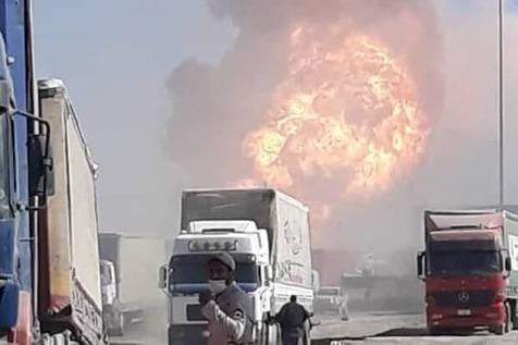 انفجار در مرز ایران و افغانستان + عکس و فیلم