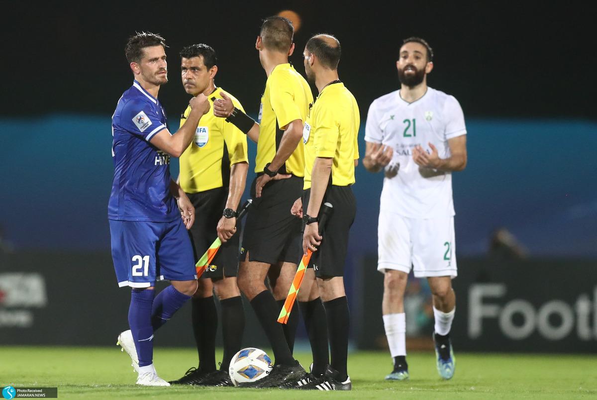 لیگ قهرمانان آسیا| کارشناسی داوری دیدار استقلال و الاهلی عربستان