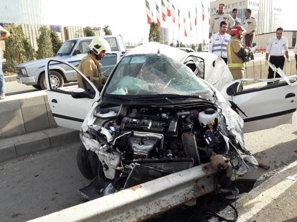 سه کشته بر اثر واژگونی خودرو در قزوین
